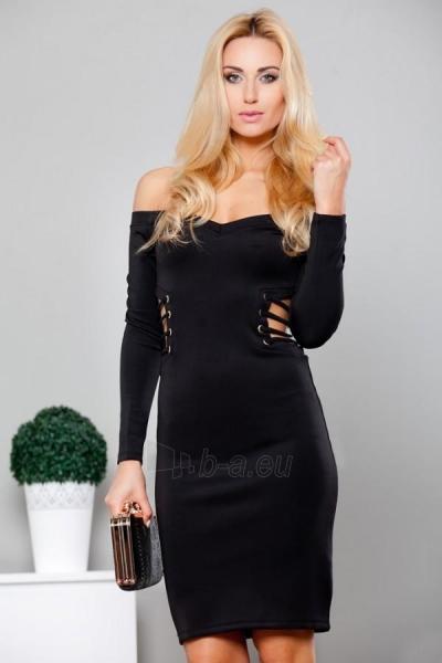 Suknelė Mita (juodos spalvos) Paveikslėlis 1 iš 3 310820032616