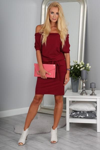 Suknelė Mprski (bordinės spalvos) Paveikslėlis 1 iš 4 310820045517