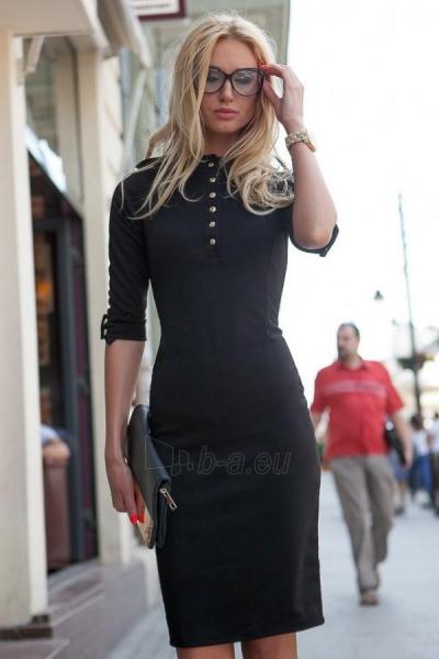 Suknelė Naomi (juodos spalvos) Paveikslėlis 1 iš 4 310820046853