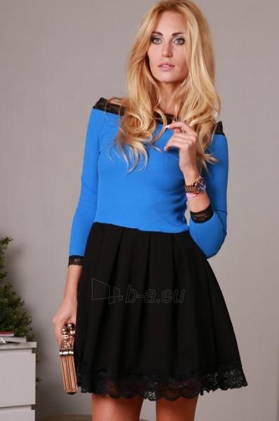 Suknelė Nefrit (mėlynos spalvos) Paveikslėlis 1 iš 4 310820034638