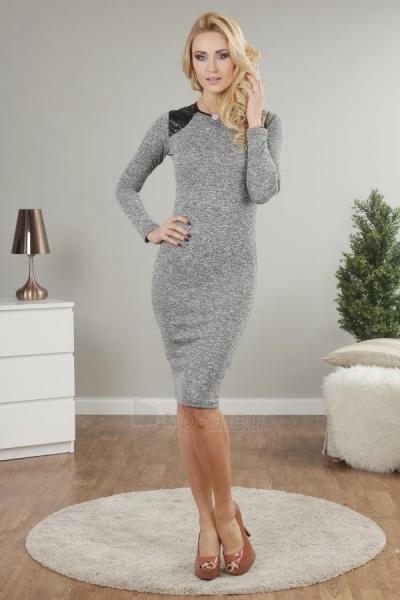 Suknelė Neza (pilkos spalvos) Paveikslėlis 1 iš 4 310820032583