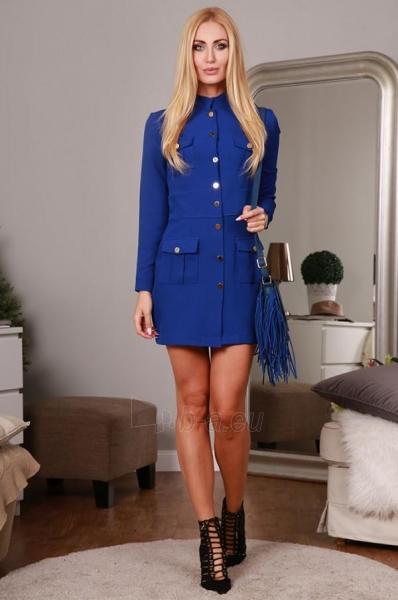 Suknelė Oniksa (mėlynos spalvos) Paveikslėlis 1 iš 4 310820034632