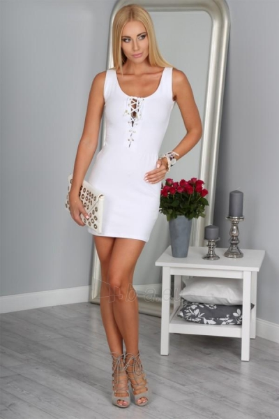 Suknelė Ova (baltos spalvos) Paveikslėlis 1 iš 4 310820035743