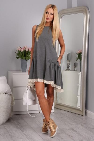Suknelė Piper (tamsiai pilkos spalvos) Paveikslėlis 1 iš 4 310820043647