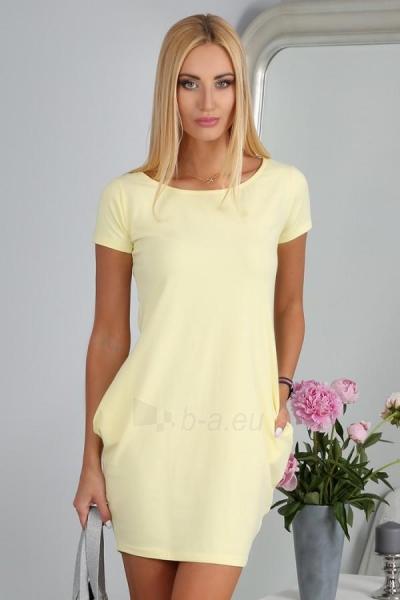 Suknelė Pritam (citrinos spalvos) Paveikslėlis 1 iš 4 310820035746