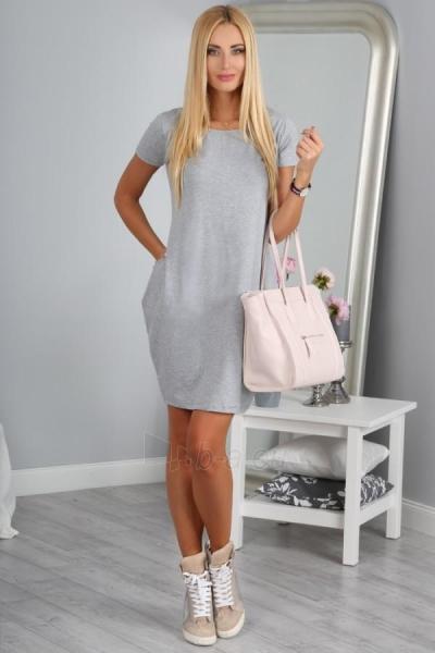 Suknelė Pritam (šviesiai pilkos spalvos) Paveikslėlis 1 iš 4 310820035747