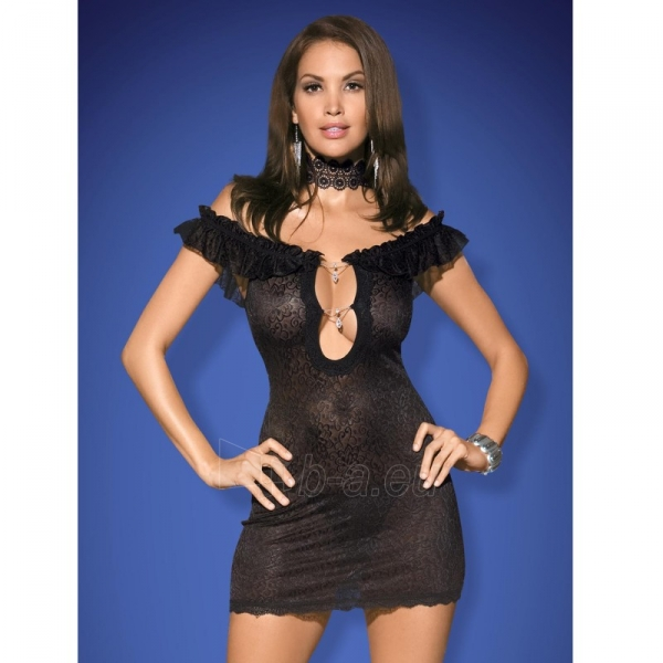 Suknelė Rebeka (juoda) S/M Paveikslėlis 1 iš 4 310820023532