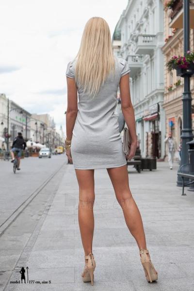 Suknelė RISHA (pilkos spalvos) Paveikslėlis 1 iš 3 310820032945