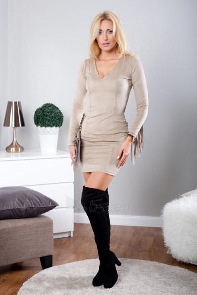 Suknelė Roda (rudos spalvos) Paveikslėlis 1 iš 3 310820032633