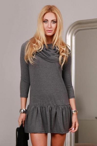 Suknelė Rodonita (tamsiai pilkos spalvos) Paveikslėlis 1 iš 4 310820034628