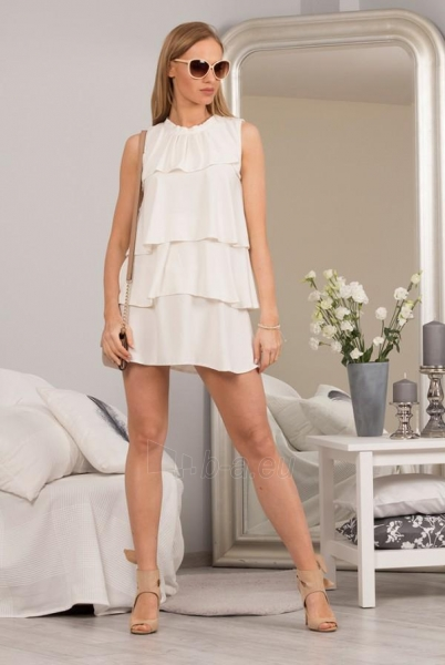 Suknelė Rutila (kreminės spalvos) Paveikslėlis 1 iš 4 310820034625