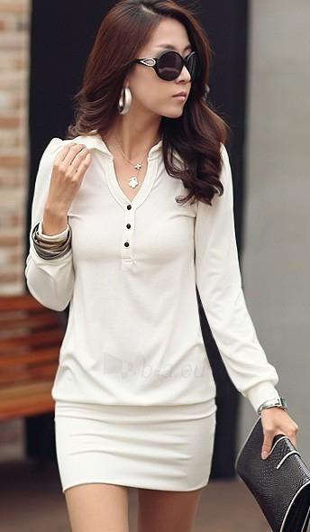 Suknelė Sabri (baltos spalvos) Paveikslėlis 1 iš 5 310820032936