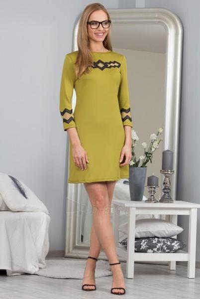 Suknelė Safyra (chaki spalvos) Paveikslėlis 1 iš 4 310820034623
