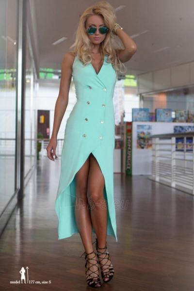 Suknelė Sakina (mėtinės spalvos) Paveikslėlis 1 iš 3 310820032929