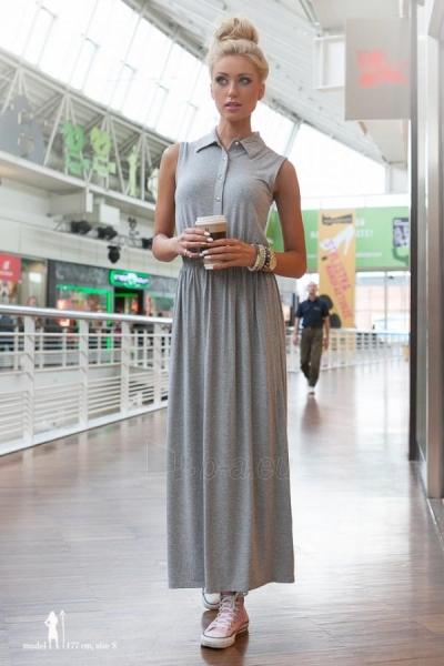 Suknelė Sally (šviesiai pilkos spalvos) Paveikslėlis 1 iš 3 310820035861