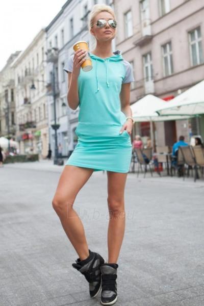 Suknelė Saran (mėtinės spalvos) Paveikslėlis 1 iš 4 310820032915