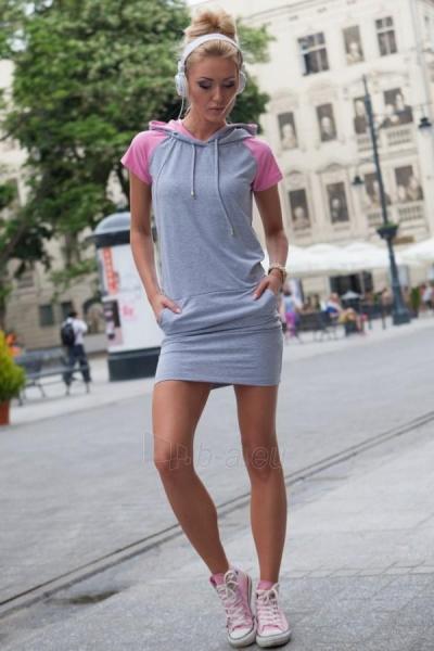 Suknelė Saran (pilkos spalvos) Paveikslėlis 1 iš 4 310820032917