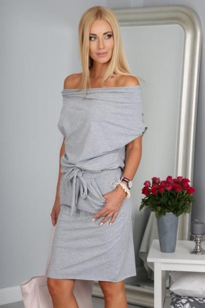 Suknelė Tacy (šviesiai pilkos spalvos) Paveikslėlis 1 iš 4 310820033109