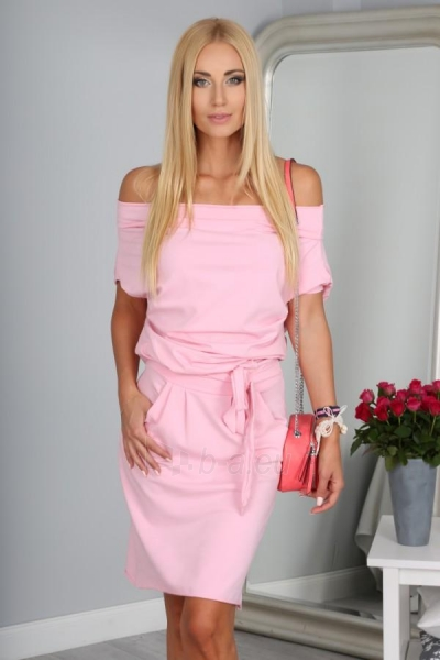 Suknelė Tacy (šviesiai rožinės spalvos) Paveikslėlis 1 iš 4 310820033112