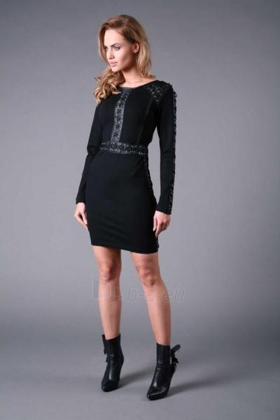 Suknelė Trama (juodos spalvos) Paveikslėlis 1 iš 5 310820034652