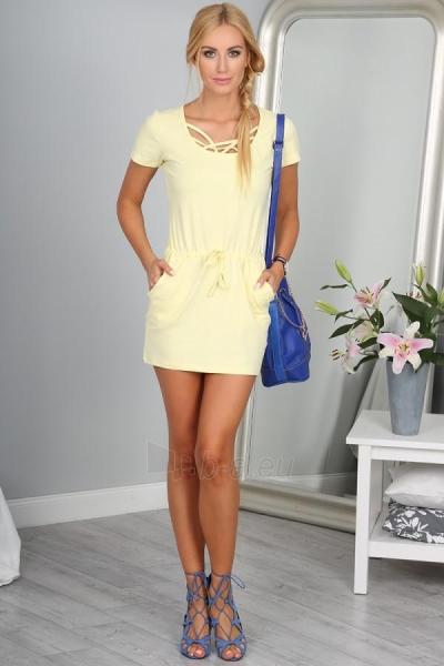 Suknelė Travis (citrinos spalvos) Paveikslėlis 1 iš 4 310820033276