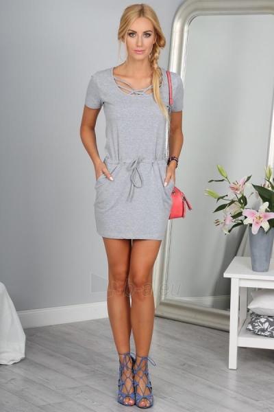 Suknelė Travis (šviesiai pilkos spalvos) Paveikslėlis 1 iš 4 310820033278