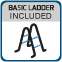 Sukomplektuotas apvalus lauko baseinas BASIC 360 white, su įranga ir priedais Paveikslėlis 5 iš 8 30092300013