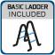 Sukomplektuotas apvalus lauko baseinas BASIC 460 white, su įranga ir priedais Paveikslėlis 6 iš 7 30092300014
