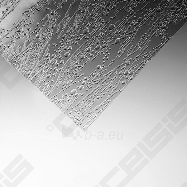 Sulankstoma vonios sienelė CH2/122 su baltos spalvos profiliu ir plastiko bark užpildu Paveikslėlis 5 iš 5 270717001141