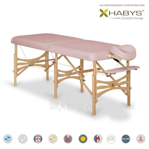 Sulankstomas masažo stalas HABYS Alba Soft Touch Lilac Paveikslėlis 1 iš 2 310820200070