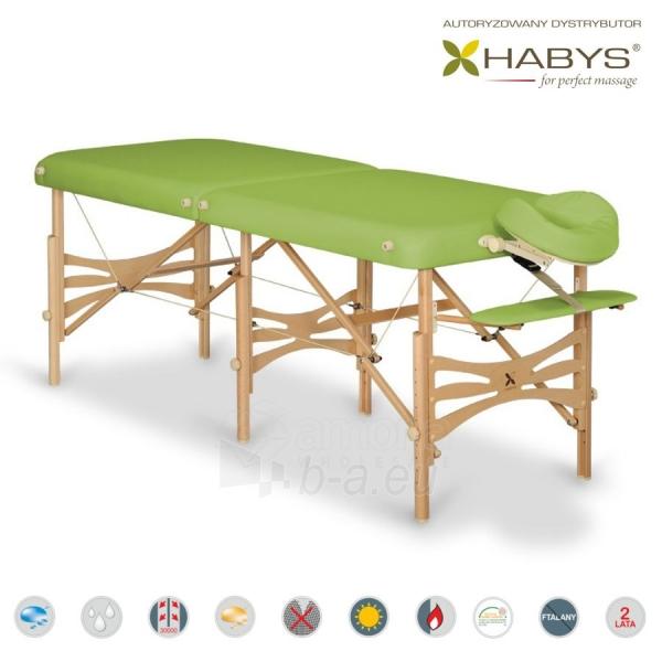 Sulankstomas masažo stalas HABYS Alba Soft Touch Limon Paveikslėlis 1 iš 3 310820200104