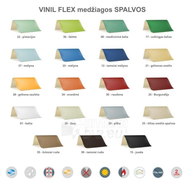 Sulankstomas masažo stalas HABYS Alba Vinyl Flex Brown Paveikslėlis 3 iš 3 310820200097
