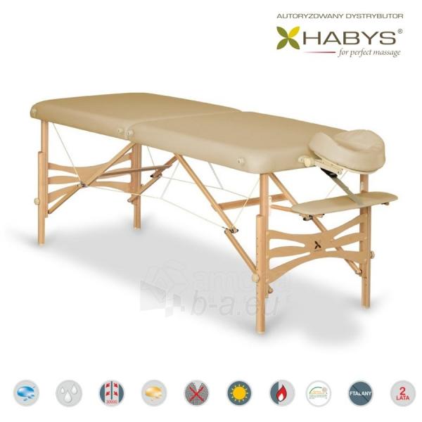 Sulankstomas masažo stalas HABYS Panda Soft Touch Beige Paveikslėlis 1 iš 3 310820200087