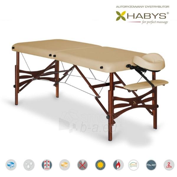 Sulankstomas masažo stalas HABYS Panda Soft Touch Beige Paveikslėlis 3 iš 3 310820200087