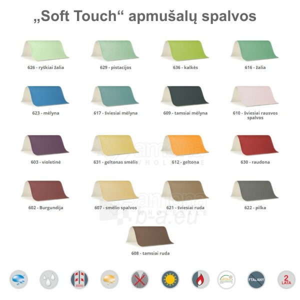 Sulankstomas masažo stalas HABYS Panda Soft Touch Blue Paveikslėlis 2 iš 3 310820200075
