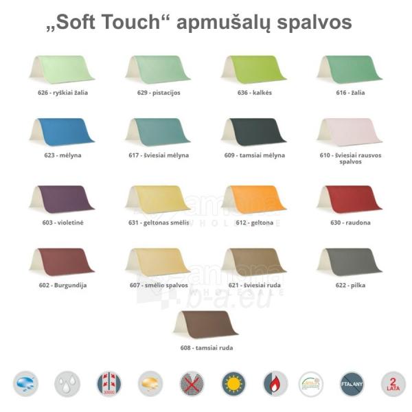 Sulankstomas masažo stalas HABYS Panda Soft Touch Burgundy Paveikslėlis 2 iš 3 310820200084