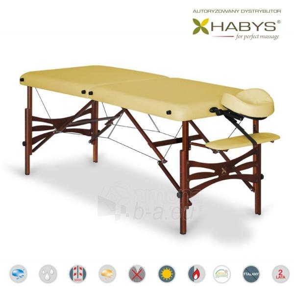 Sulankstomas masažo stalas HABYS Panda Soft Touch Gold Sand Paveikslėlis 2 iš 3 310820200081