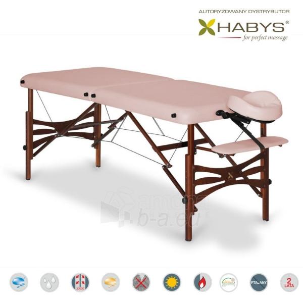 Sulankstomas masažo stalas HABYS Panda Soft Touch Light Pink Paveikslėlis 2 iš 3 310820200078