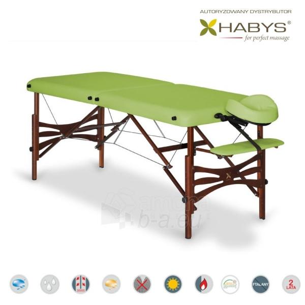 Sulankstomas masažo stalas HABYS Panda Soft Touch Limon Paveikslėlis 2 iš 3 310820200071