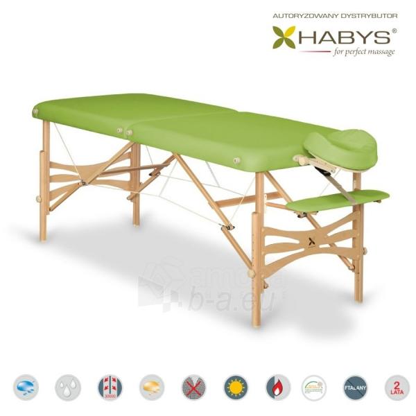 Sulankstomas masažo stalas HABYS Panda Vinyl Flex Limon Paveikslėlis 1 iš 3 310820200092
