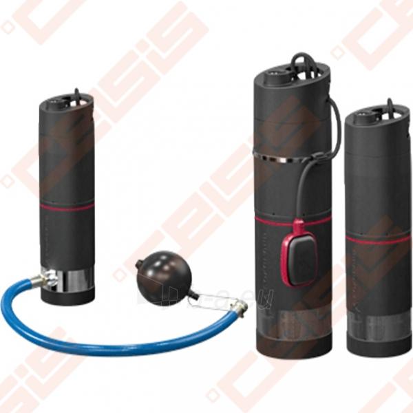 Šulinio siurblys vandens tiekimui Grundfos SBA 3-45 AW; 15m, 1~230V (su plūduru, filtru ir plūdiniu jungikliu) Paveikslėlis 2 iš 3 310820079173