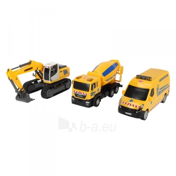 Sunkvežimiai Liebherr Team Set, 2-asst. Paveikslėlis 2 iš 2 310820143497