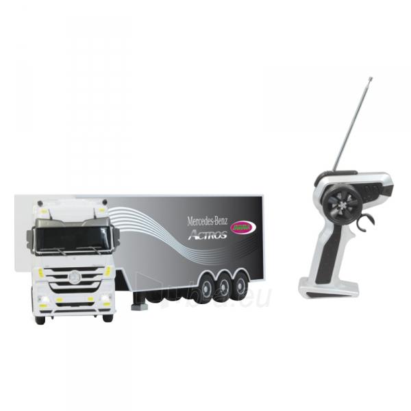 Sunkvežimis su pulteliu Mersedes Actros 1:32 white 3ch 27Mhz Paveikslėlis 1 iš 5 310820094152