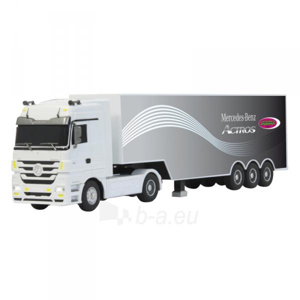 Sunkvežimis su pulteliu Mersedes Actros 1:32 white 3ch 27Mhz Paveikslėlis 2 iš 5 310820094152