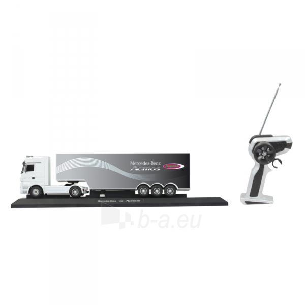 Sunkvežimis su pulteliu Mersedes Actros 1:32 white 3ch 27Mhz Paveikslėlis 3 iš 5 310820094152