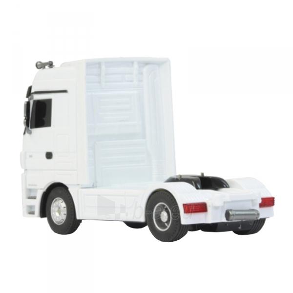 Sunkvežimis su pulteliu Mersedes Actros 1:32 white 3ch 27Mhz Paveikslėlis 4 iš 5 310820094152