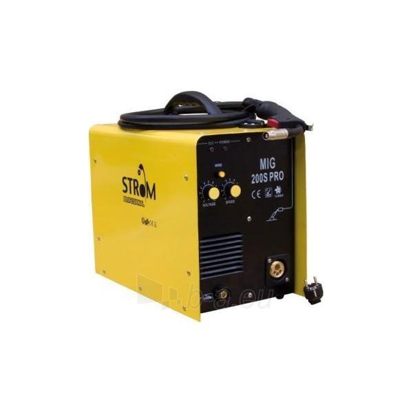 Suvirinimo aparatas STROM MIG-180SPRO Paveikslėlis 1 iš 1 225271000271