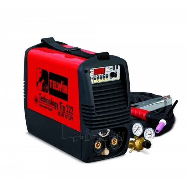welding machine Telwin TIG 222 AC/DC-HF/LIFT Paveikslėlis 1 iš 1 225271000137