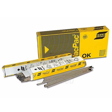 Suvirinimo elektrodai ESAB OK 76.35 2.5mm 1.8kg Paveikslėlis 1 iš 1 310820021439