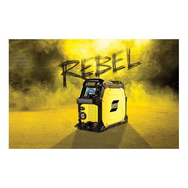 Suvirinimo pusautomatis ESAB REBEL EMP 215ic Paveikslėlis 2 iš 6 310820101497
